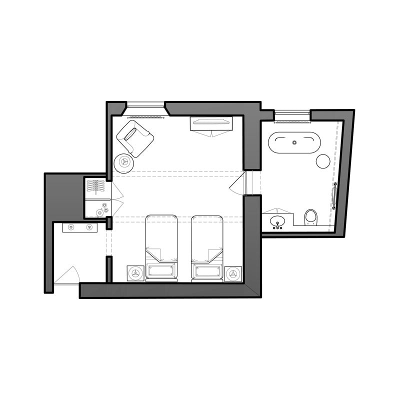 Stiffkey Room Floor Plan