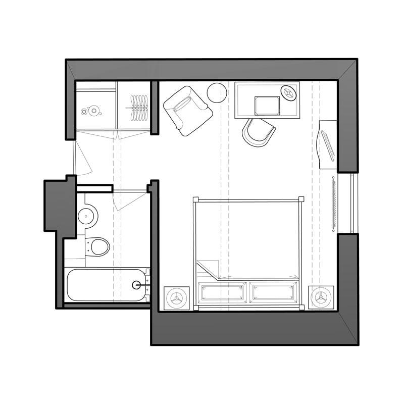 Starboard Floor Plan