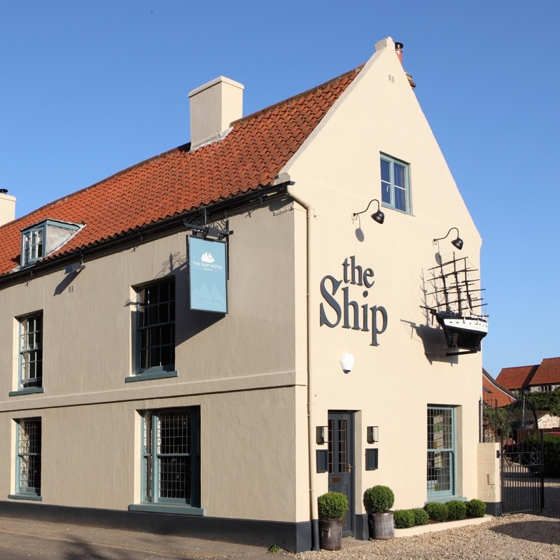 The Ship Hotel - Brancaster. Exterior View